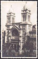 NORTH AFRICA TUNISIA TUNISI 06 TUNIS ????? Cartolina PHOTO SOLER - PAVIA FRERES