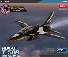 Academy 1/72 #12555 ROKAF T-50B Black Eagles With Free Gifts