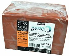 Gedeo 5 Kg Kiln Fired Clay, Red