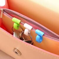 2 pcs Practical Anti Lost Key Clips Key Holder Built-in Bag Inner Hooks