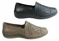 NEW CC RESORTS JOELENE WOMENS COMFORTABLE CASUAL LEATHER SHOES