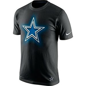 Dallas Cowboys NFL Men's Glow Logo T-Shirt, XXX-Large