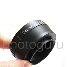 Anello adattatore obiettivi M42 su fotocamera reflex SONY NEX E-MOUNT SONY E