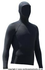 1.5 mm hooded long sleeve rash vest 90% neoprene 10% thermal mix (Sz XXL V.WARM)