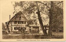 NANCY maison alsacienne parc ste marie