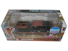 "GREENLIGHT 1978 FORD MUSTANG COBRA II BLACK ""FREE WHEELIN"" MOVIE 1/18 CAR 12891"