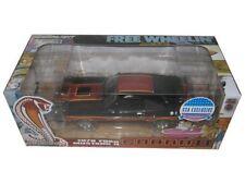 """GREENLIGHT 1978 FORD MUSTANG COBRA II BLACK """"FREE WHEELIN"""" MOVIE 1/18 CAR 12891"""