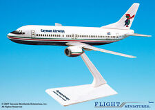 Flight Miniatures Cayman Airways 737-400 1:185 Scale Display Model New in Box