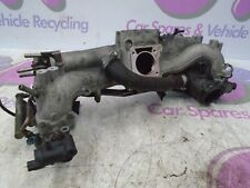 2002 SUBARU IMPREZA WRX 2.0 BUGEYE INLET MANIFOLD ASSEMBLY WITH INJECTORS 00-03