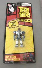 "Sealed! 2004 Teen Titans Go! CYBORG 3.5"" DC Poseable Figures Toy Bandai #22130"