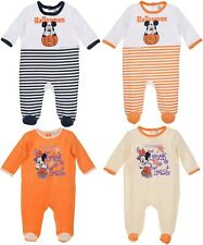 Baby Girls Boys Halloween costume Sleepsuit Mickey Minnie Mouse Romper Pyjamas