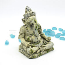 Fish Tank Ganesh Statue Ornament Ganesha Reptile Aquarium House Decorations