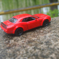 """Dodge challenger SRT Demon Model Cars 5"""" Collections&gift 1:36 Alloy Diecast Toy"""