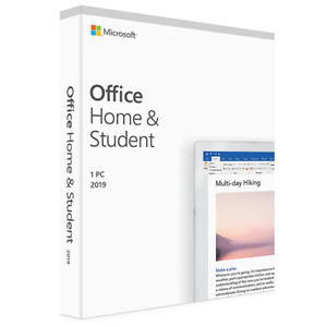 Microsoft Office Home & Student 2019 1 Device