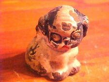 Heavy Cast Iron PUPPO English Bulldog Paperweight Toy HUBLEY 1920s Dog Puppy 2""