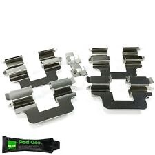 REAR BRAKE PAD FITTING KIT ANTI RATTLE SHIMS FITS: FIAT PANDA 03-12 BPF1245Q