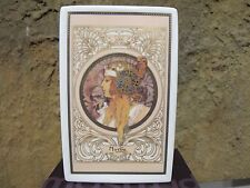 Alphonse Mucha Goebel Seasons 1897 VASO 19 cm PORCELLANA Artis Orbis