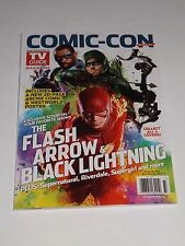 SDCC 2017 EXCLUSIVE TV GUIDE MAGAZINE THE FLASH, ARROW & BLACK LIGHTNING COVER