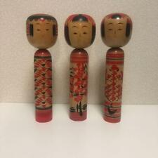 Giapponese Sosaku Kokeshi Bambola Vintage Kawaii Prodotto IN Fatto a Mano Legno