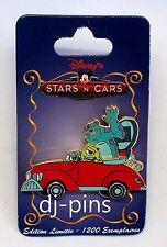 DLRP Disney Stars 'n Cars Series Mike and Sulley Le Paris Disney Pin 77602