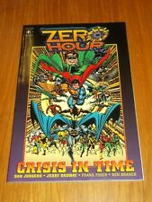 Zero Hour Crisis in Time by Jerry Ordway (Paperback, 1994)< 1852865946