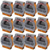 12 x Rolls 24mm x 50m Prodec Advance Trade Precision Edge Painting Masking Tape