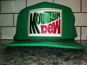 Mountain Dew Trucker Hat Classic Vintage Style