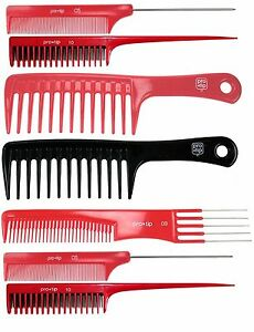 Pro Tip Hair Comb Hairdressing Barbers Cutting Styling  Backcombing Hair Combs