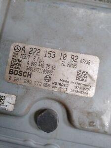 OEM 06-10 MERCEDES BENZ W211 E350 CLK350 C350 ECU ENGINE CONTROL A2721531092