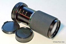 Pentax A fit 70-210mm f4.5 Lens KA zoom Vivitar manual focus