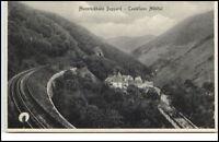 Boppard Hunsrückbahn Schienen Postkarte ~1940 Castellaun Mühltal ungelaufen