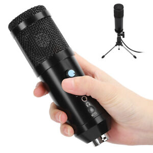 BM858 USB Wired Condenser Microphone Audio Mic System for Chat Studio Recording