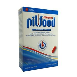 dietary supplement - PILFOOD COMPLEX NEW IMPROVED HAIR & NAILS 60TABS