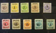 """Memel Mi Nr. 183-192 """"fette Wertangabe"""" tadellos postfrisch, Fotoattest, 2400.-"""