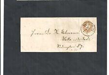 Österreich 1863/64, MiNr.34, 15 Kreuzer auf Bedarfsbrief o, gestempelt, KW € 50