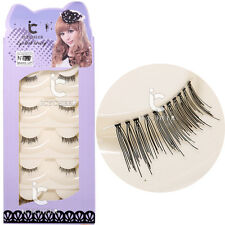 Make Up 5Pairs Half False Eyelashes Mini Accent Conner Fake Eye Lashes Extension
