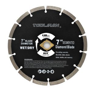 "7"" Wet Dry Diamond Masonry Saw Blade Circular Saw for Tile Marble Concrete brick"