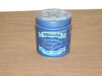"VINTAGE KITCHEN 1975  3 3/4""  VILLAGE MINNETONKA MINERAL BATH SALTS  TIN CAN"