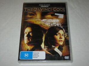 The Da Vinci Code - Tom Hanks - Brand New & Sealed - Region 4 - DVD