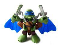 """Leonardo & Glider Wings TMNT Ninja Turtles Half Shell Heroes 2.5"""" Figure Leo"""