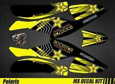 Kit Déco Quad / Atv Decal Kit Polaris Scrambler Trailblazer  - Rockstar