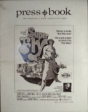 """A VG pressbook with no cuts from the film """"Superfly"""". Includes Herald."""