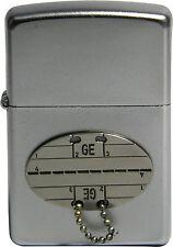 Original Zippo Sturmfeuerzeug Erkennungsmarke (GE)