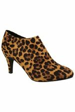 Unbranded Animal Print Zip Boots for Women