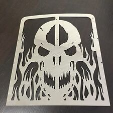 Skull Radiator Grille Guard Cover Protector  For Yamaha Banshee Grill 1986-2007