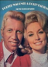 PORTER WAGONER & DOLLY PARTON most requested NEW ZEALAND EX LP