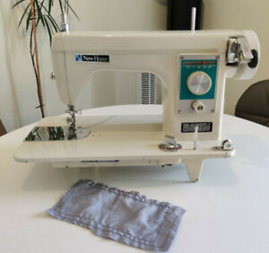 New Home Janome Model 133 Heavy Duty Semi Sewing Machine Leather Upholstery
