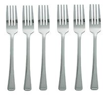 6 x Stainless Steel Cutlery Dining Table Forks Dinner Forks