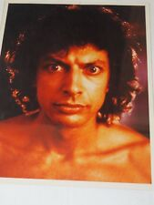 "Jeff Goldblum""THE FLY"" Press Release color 8 x 10"" Photo 1986"