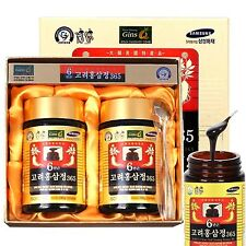 Korean 6 Years Red Ginseng Extract 480g (240g x 2 Bottle) Goryeo insam, panax